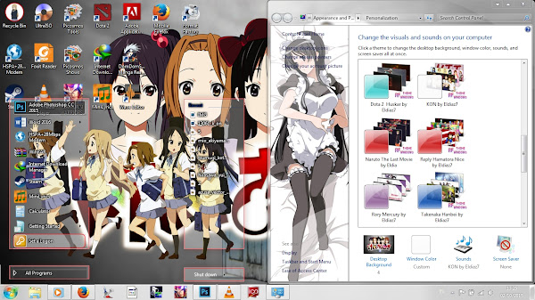 [Theme Win 7] K-ON! by Eldiaz7 2