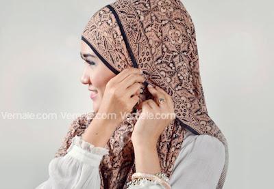 Model Cara Memakai Jilbab Pashmina Simple Modern Terbaru