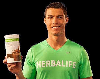 Cristiano Ronaldo CR7 Recomenda Herbalife