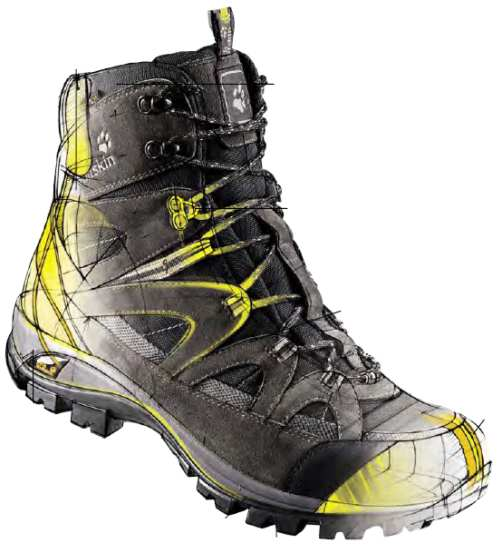 cara memilih Sepatu Tracking
