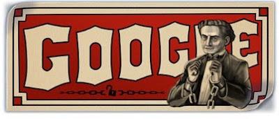 Google Celebrates Harry Houdini 137th Birthday