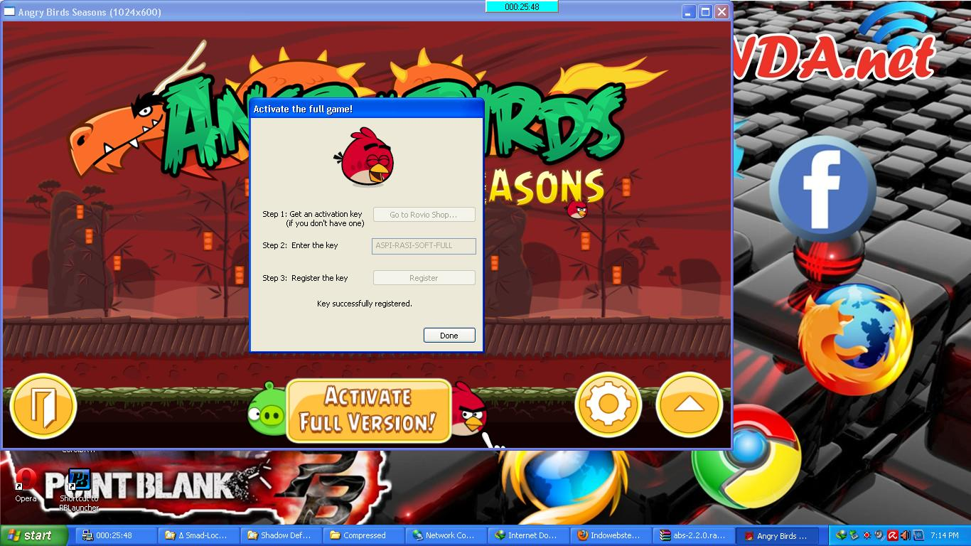 download angry birds seasons full version with activation key