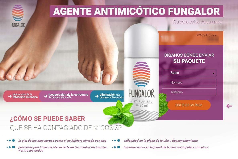 Agente antimicótico fungalor