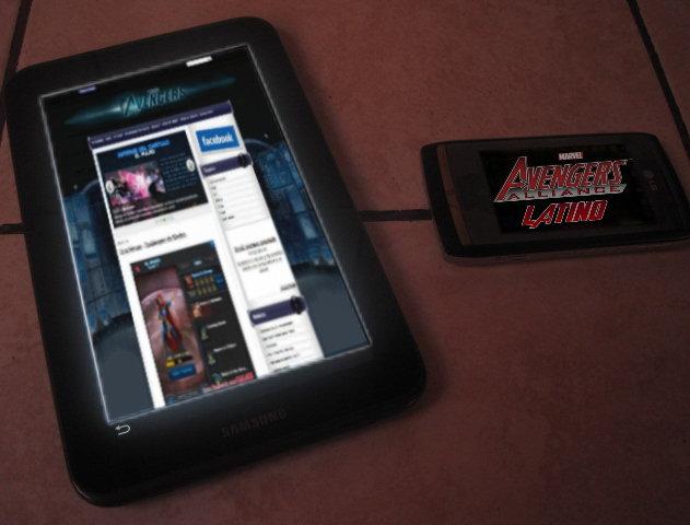 poder usar el Marvel: Avengers Alliance en sus dispositivos móviles