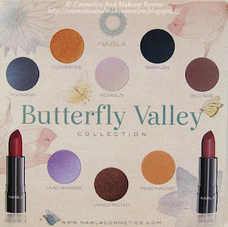 Nabla - Butterfly Valley Collection - depliant back