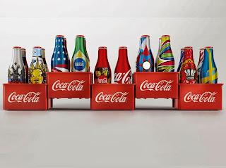 Promoção Garrafinhas da Coca-Cola