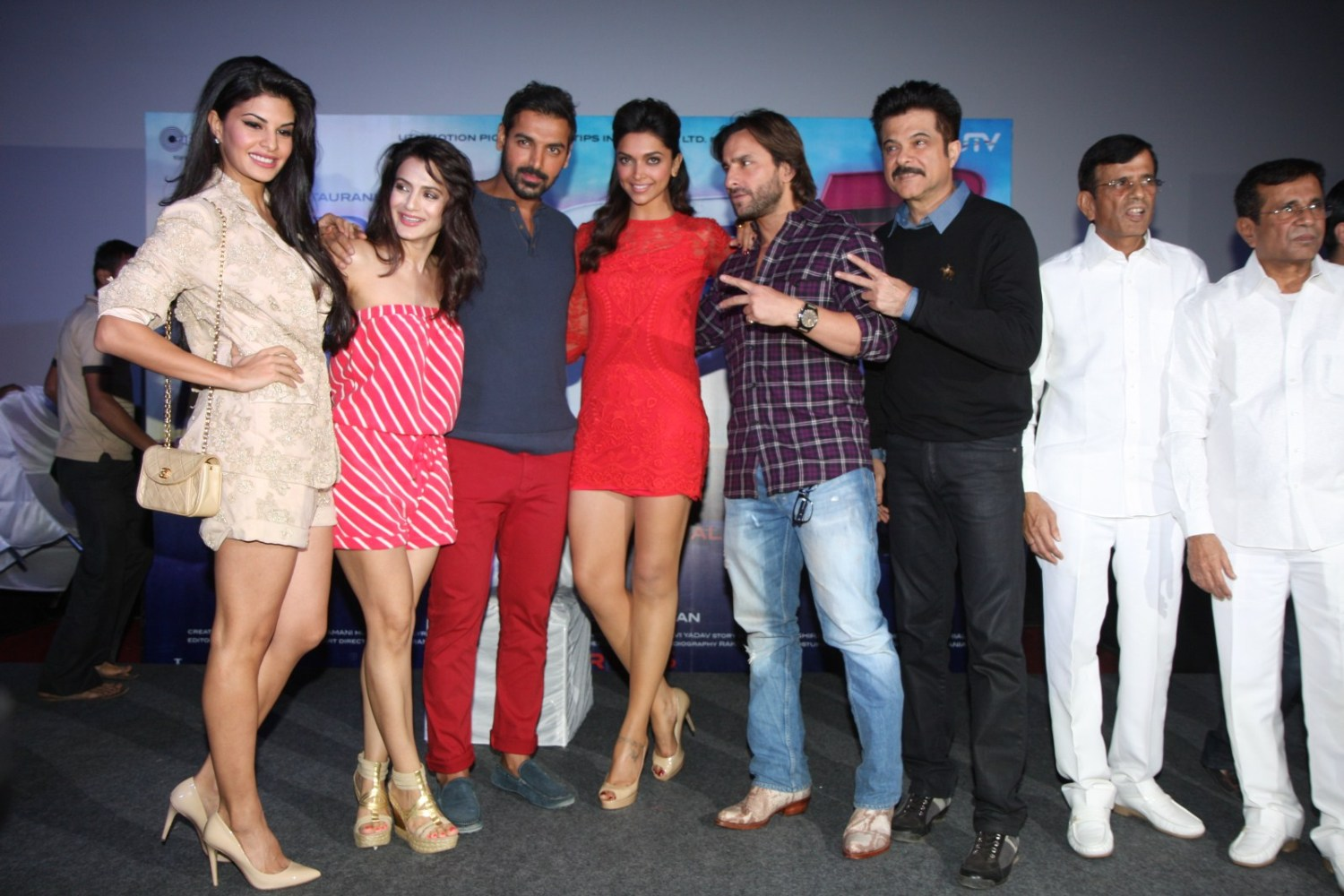 Press Conference of Movie Race-2 with Entire Starcast ... Race 2