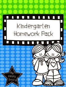 http://www.teacherspayteachers.com/Product/Kindergarten-Homework-Pack-2014-2015-1348263