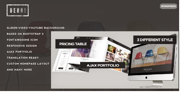 One Page Theme Themeforest