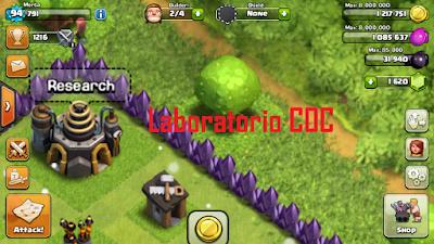 Laboratorio Clash of Clans