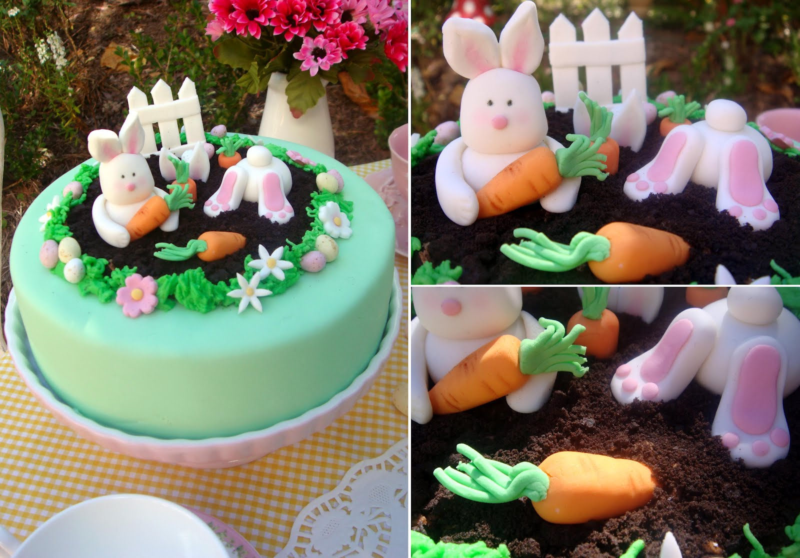M S Easter Bunny Cake