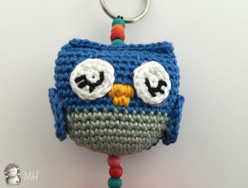 Vistoso Patrones De Crochet Libre De Búho Ilustración - Manta de ...