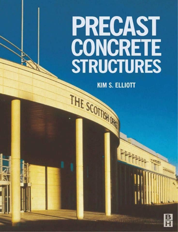 Precast Concrete Structures : Book store online civil