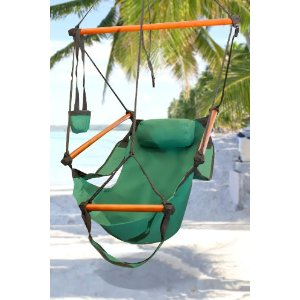 New Deluxe Green Sky Air Chair Swing Hanging Hammock Chair