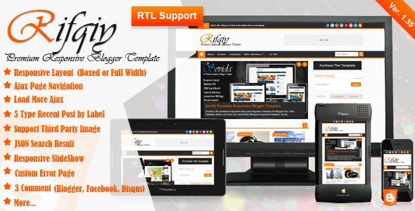 Rifqiy v1.35 – Themeforest