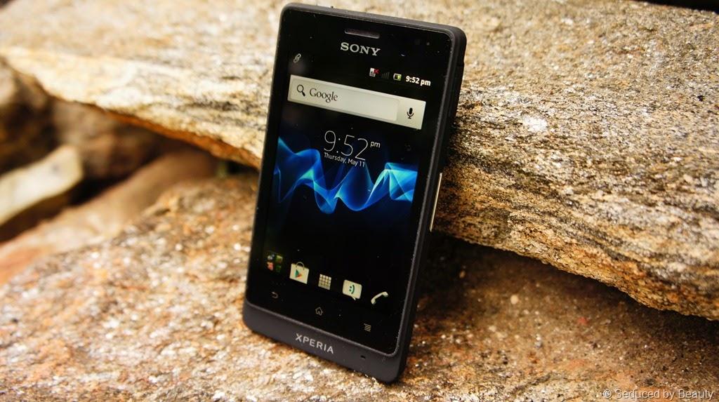 HP Untuk Petualang - Sony Xperia Go