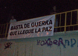 BASTA DE GUERRA, QUE LLEGUE LA PAZ