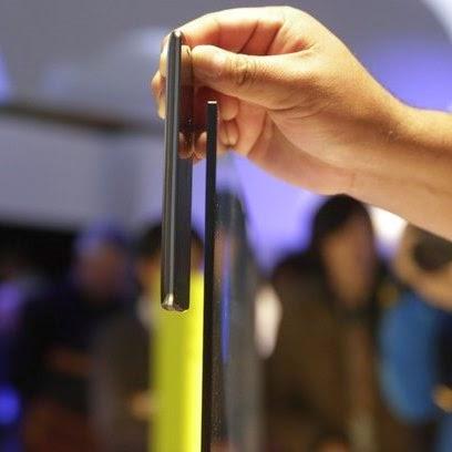 Destaques da maior feira de eletrônicos do mundo. TV mais fina que smartphone