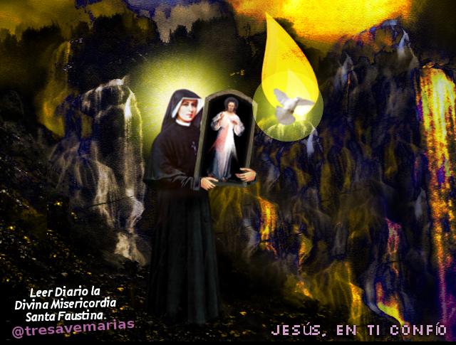 jesus ,santa faustina y el espiritu santo