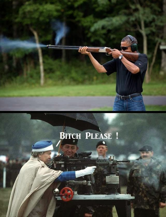 Elizabeth ii Shooting Queen Elizabeth ii Firing