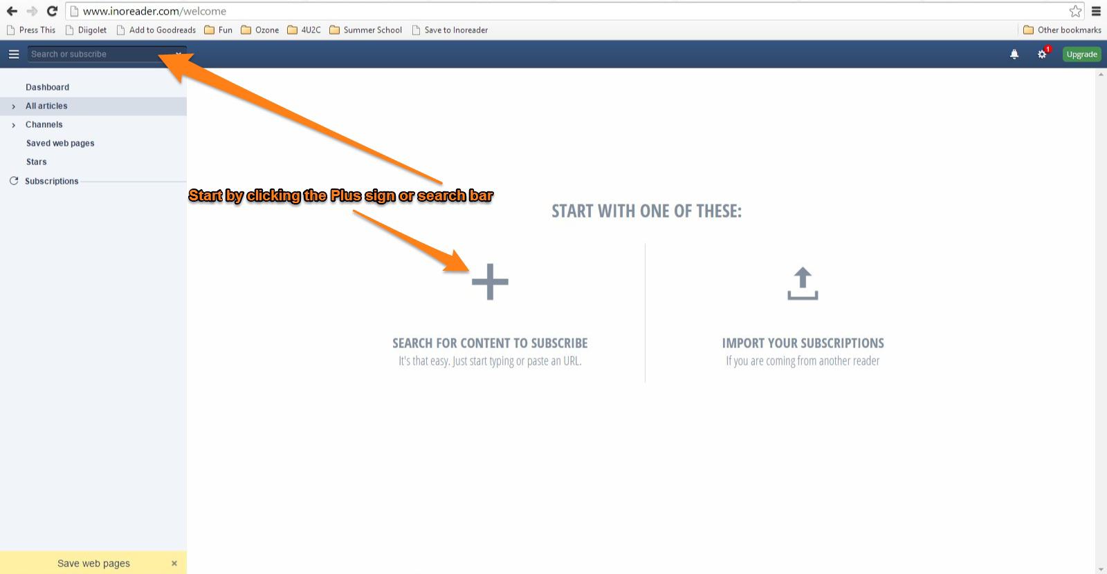 Inoreader How-to: Setting up subscriptions and feed views ...