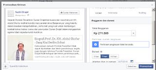 Penghasilan Facebook