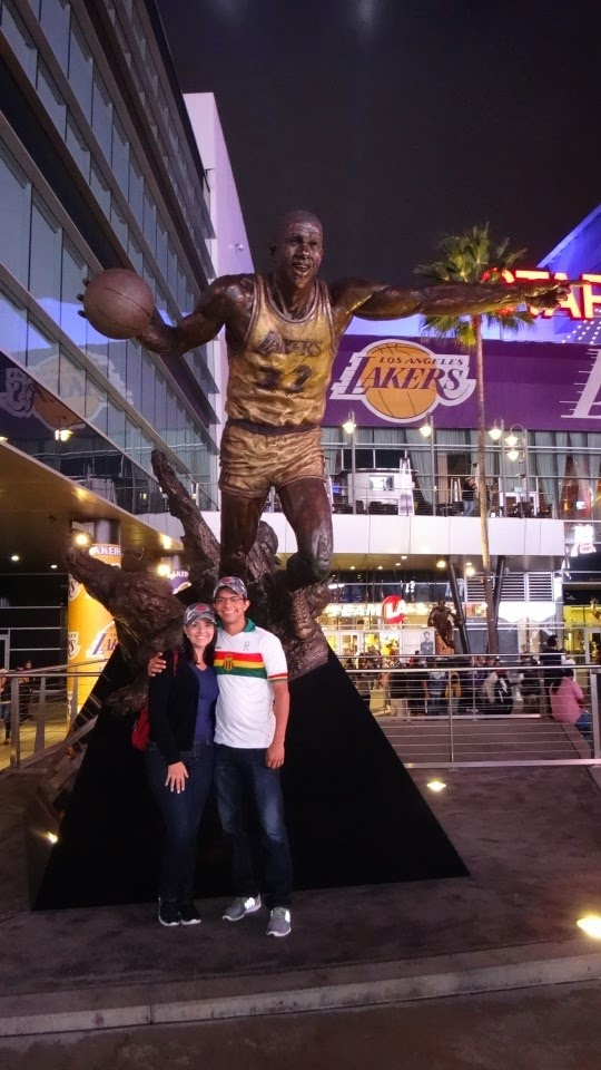 star plaza - estatuas - staples center - los angeles