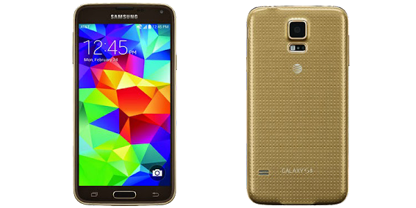 Samsung Galaxy S5 Gold for AT&T