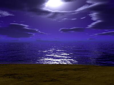 endless sea, peaceful sea, horizon