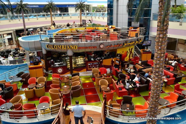 Colombiano Coffee House at Marina Mall's ground floor