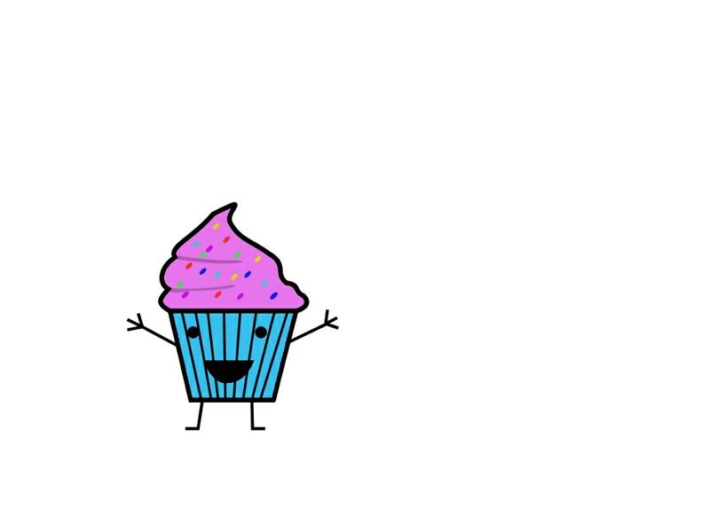 Cartoon Cupcake Wallpaper Cartoon Wallpaper