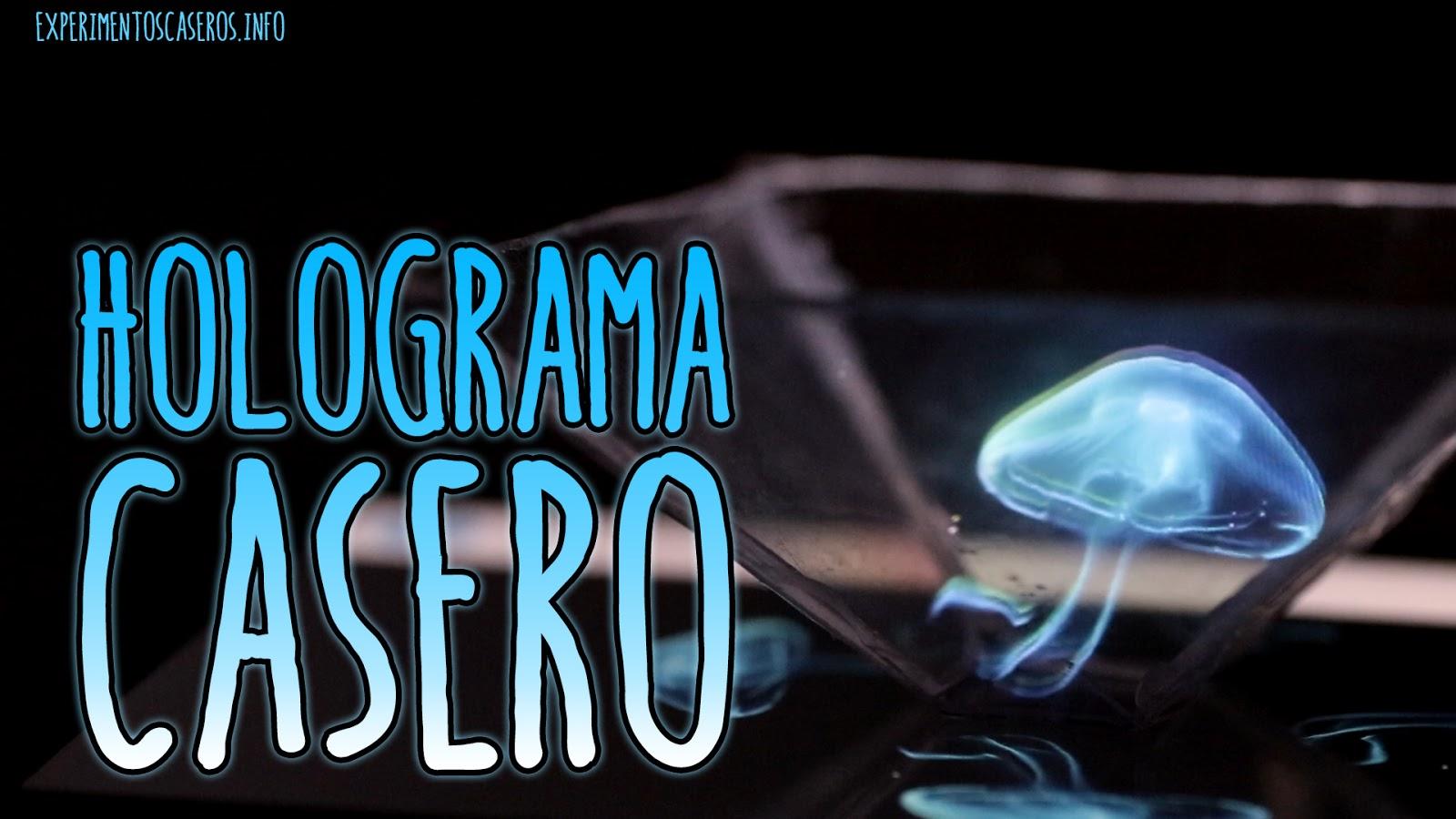 Experimentos caseros: Cómo hacer un holograma casero para el móvil ...