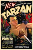 Portada película Las nuevas aventuras de Tarzán