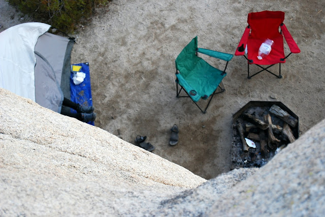 Camping in Joshua Tree National Park by Campfirechic.com