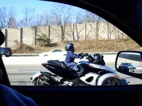 Ducati Scrambler Foot Behind Shift Lever