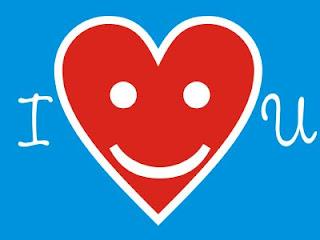Emoticon I Love You - Eu amo você (desenho)