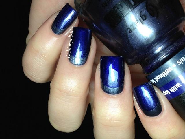 Green metalic nail polish ideas