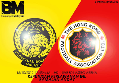 Video Gol Malaysia vs Hong Kong 16 Oktober 2012