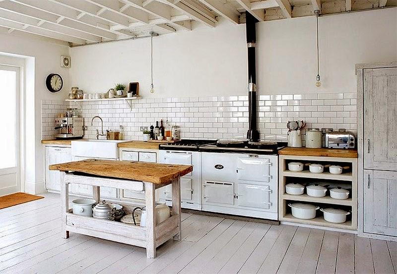 Mesas De Trabajo De Cocina. Fabulous Mesas De Trabajo De Cocina With ...