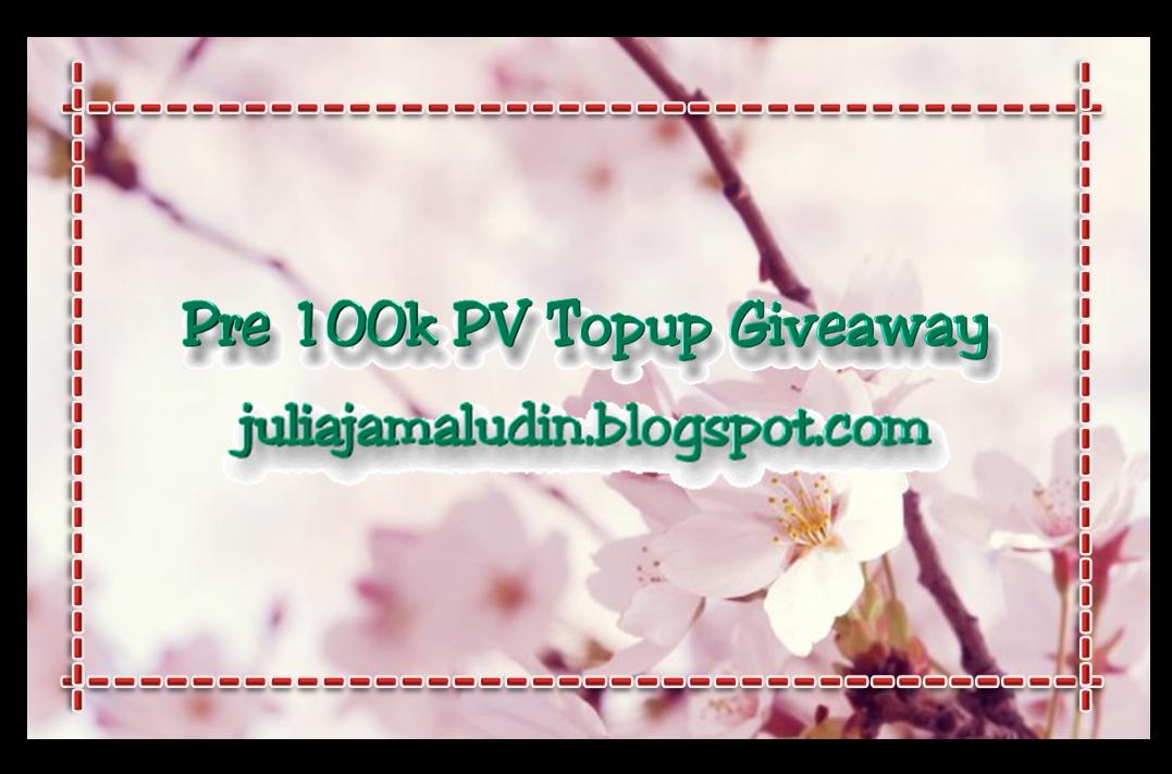 Segmen : Pre 100k PV Topup Giveaway