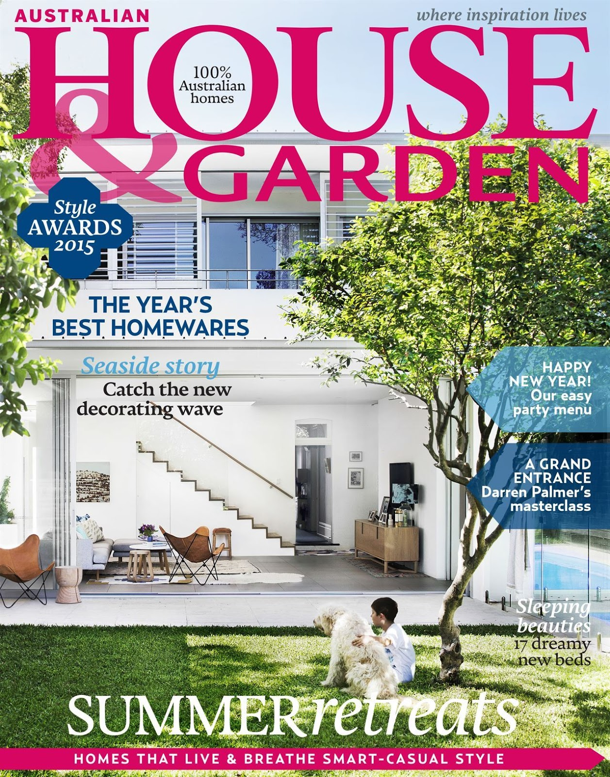 Coastal Style: My House Features in Australian House & Garden