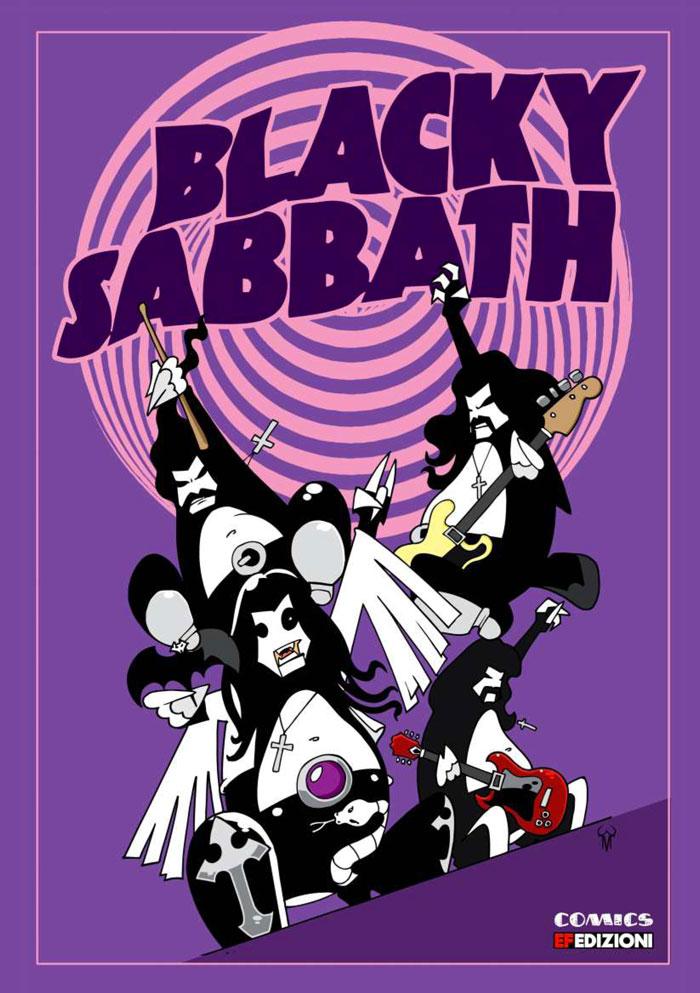 BLACKY SABBATH (Ef Edizioni, 2017)