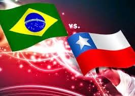 Brasil 1 - 1 Chile. Octavos. Gran partido de Chile y ridículo total de Brasil que se clasificó por los pelos en los penaltis.