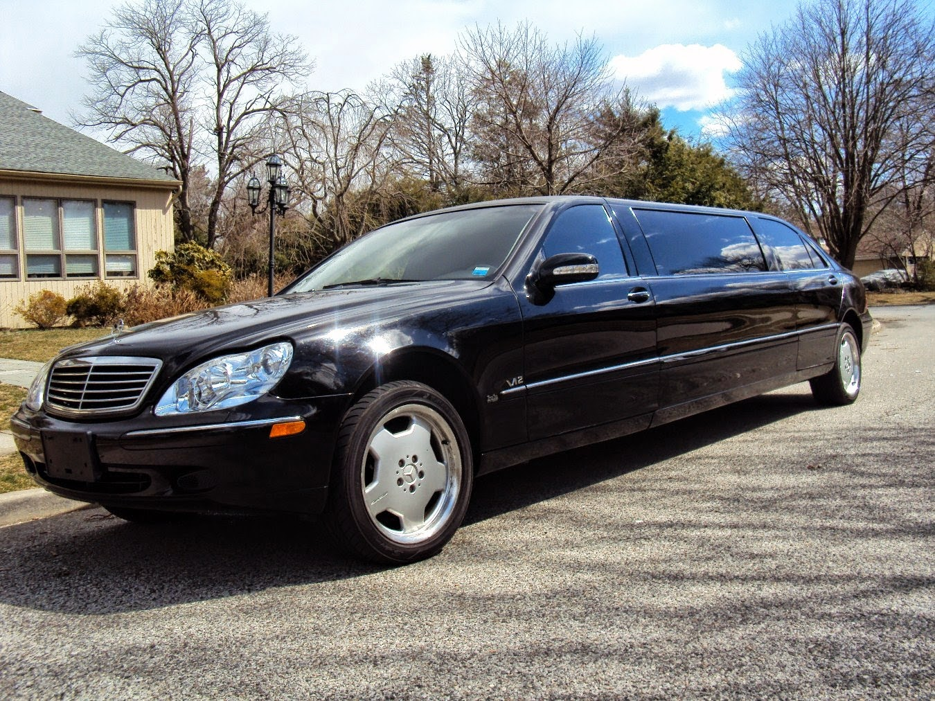 Mercedes benz w220 s600 limousine benztuning for Mercedes benz limo