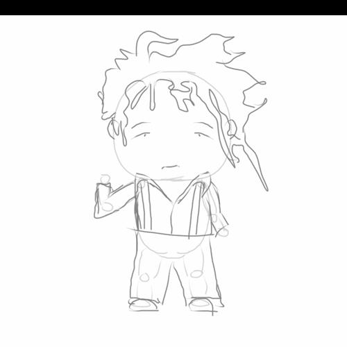 Sketch sans hands