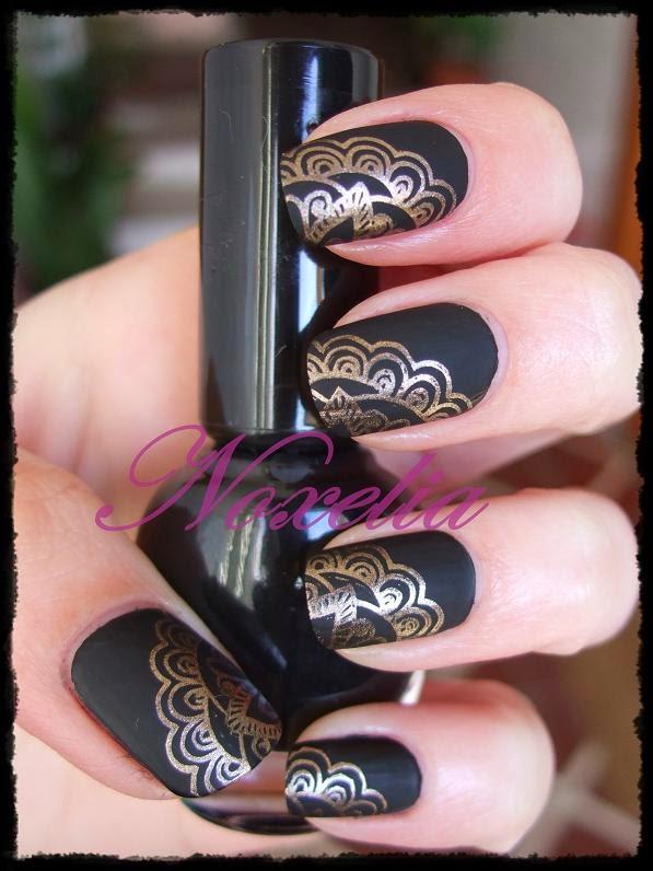 Noxelia: Stamping nail art: Colaboración con BornPrettyStore XLIII y ...