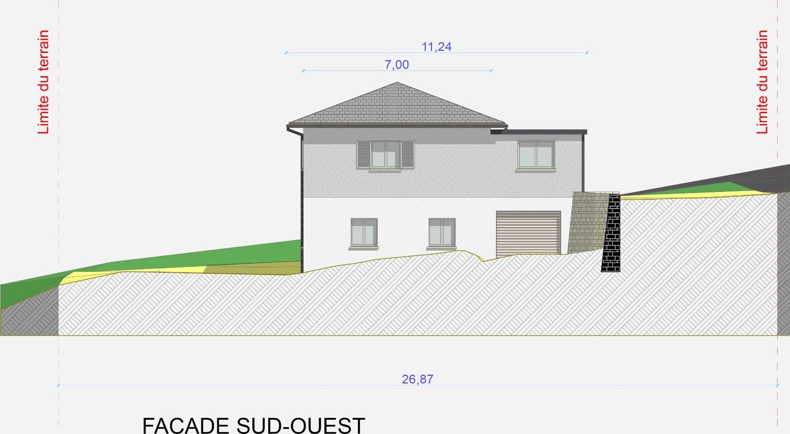 architecte p rigueux julien flahaut maison individuelle atur. Black Bedroom Furniture Sets. Home Design Ideas