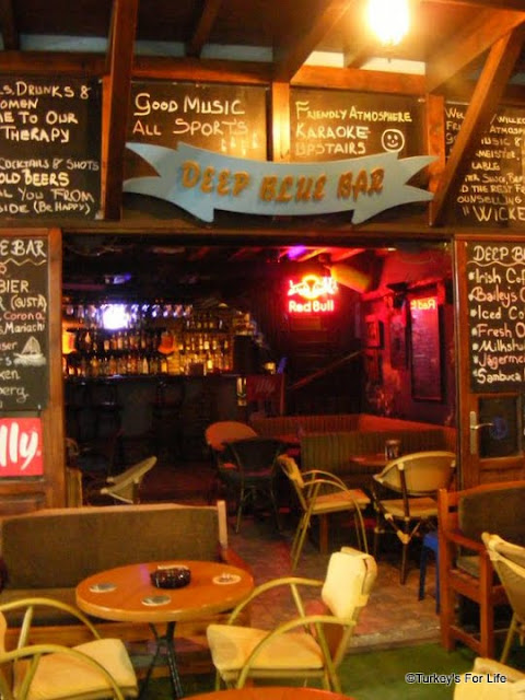 Deep Blue Bar in Fethiye
