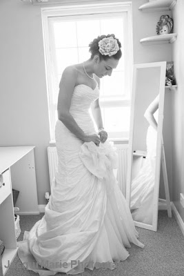 bride, portrait, wedding dress