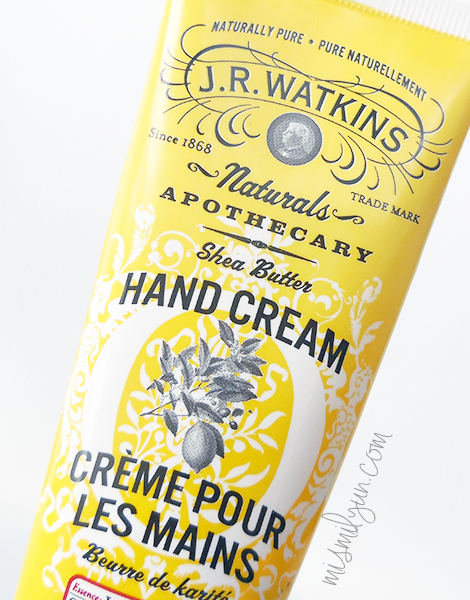 hand cream lemon jr watkins